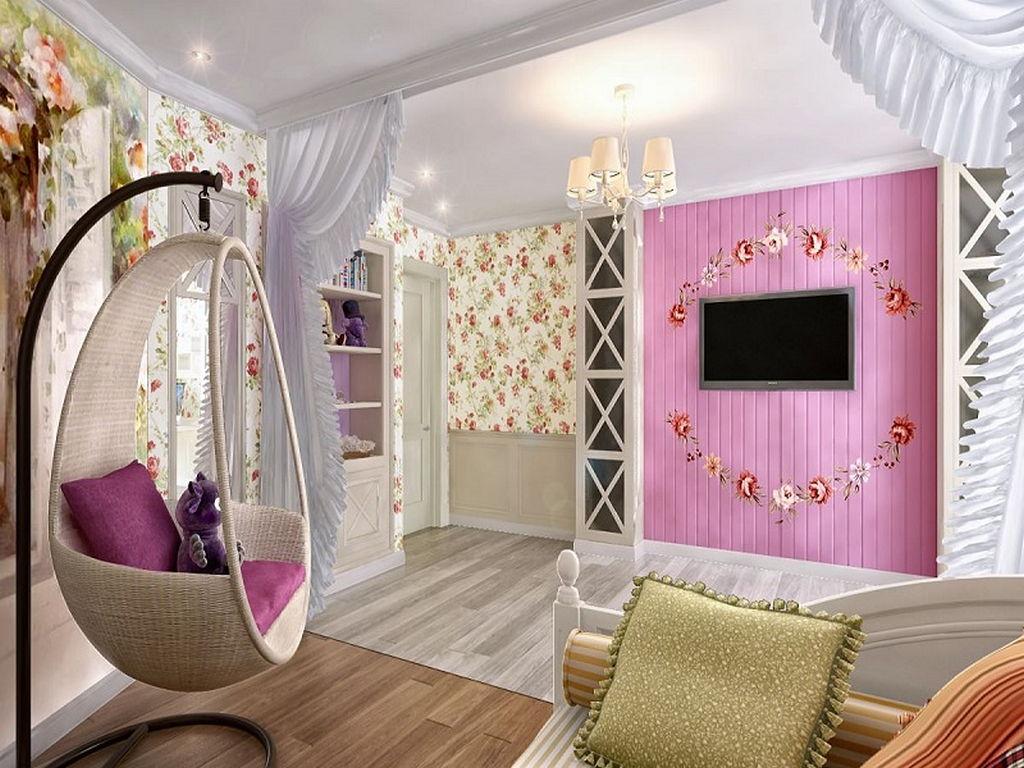 Детская комната в стиле прованс 13