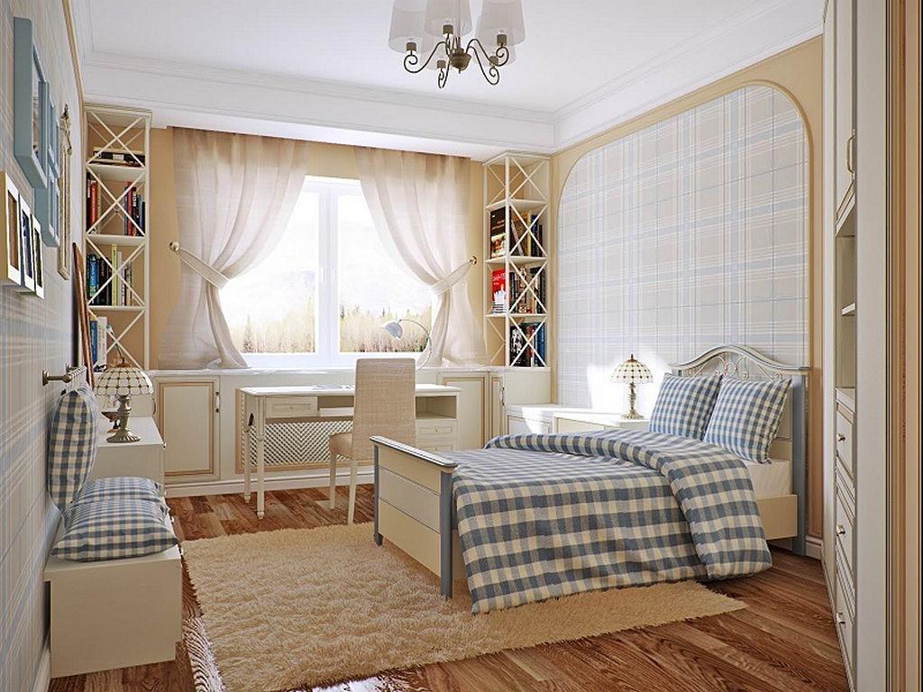 Детская комната в стиле прованс 14