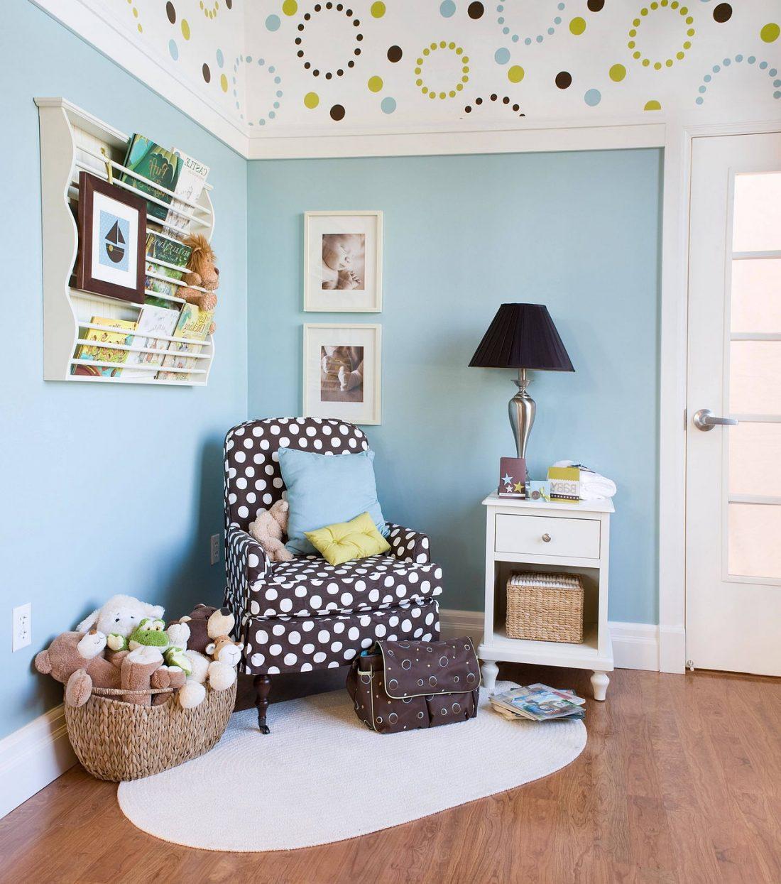 Детская комната в стиле прованс 2