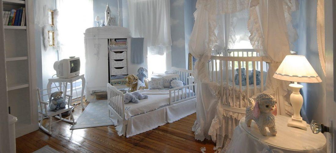 Детская комната в стиле прованс 6
