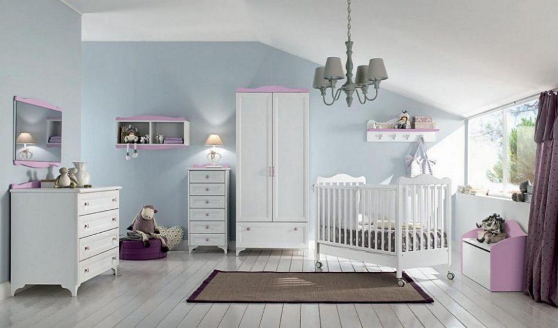 Детская комната в стиле прованс 9
