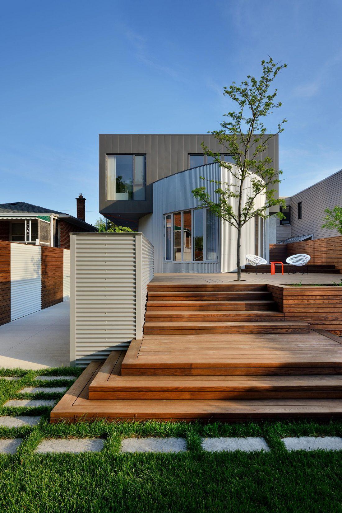 Дом корабль от студии Tampold Architects 1