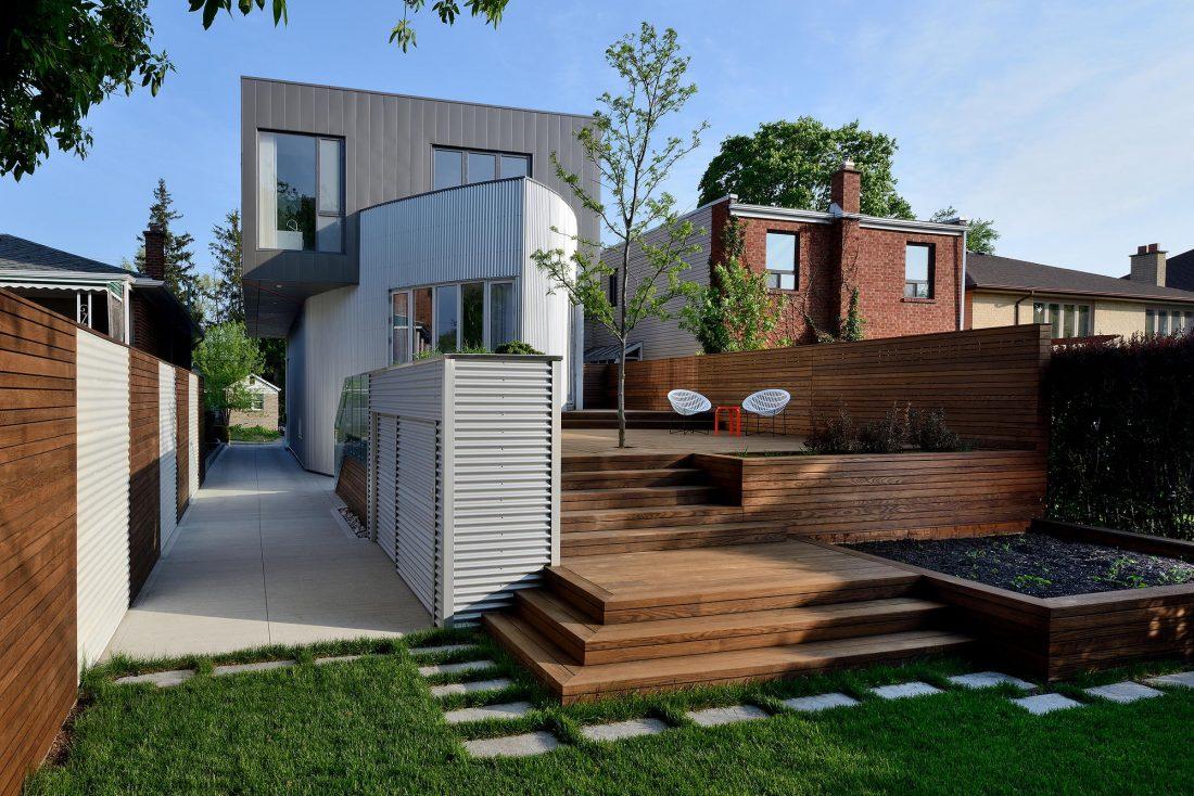 Дом корабль от студии Tampold Architects 3