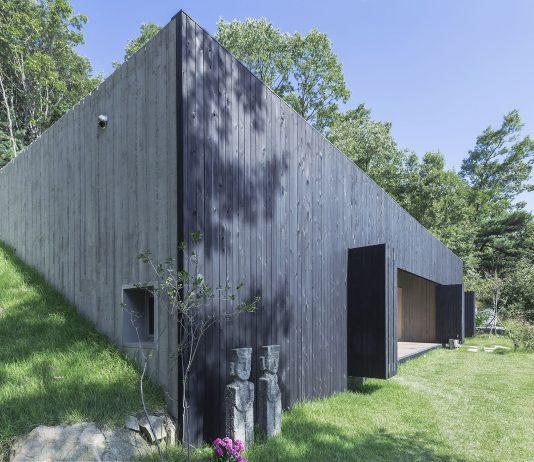 Дом на склоне горы от студии BCHO Architects 13