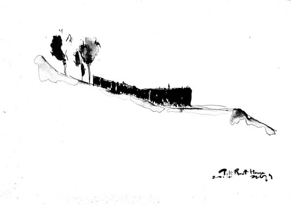 Дом на склоне горы от студии BCHO Architects 31