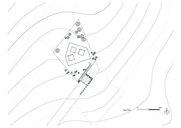 Дом на склоне горы от студии BCHO Architects 33