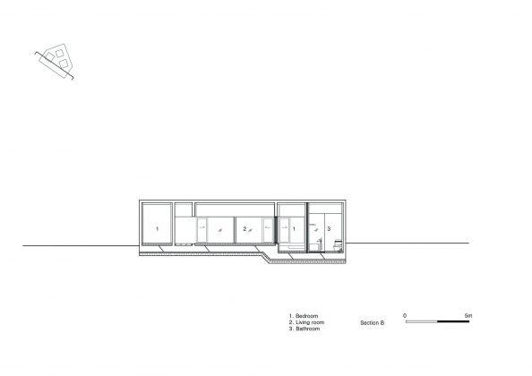 Дом на склоне горы от студии BCHO Architects 38