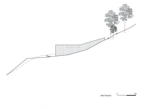 Дом на склоне горы от студии BCHO Architects 40
