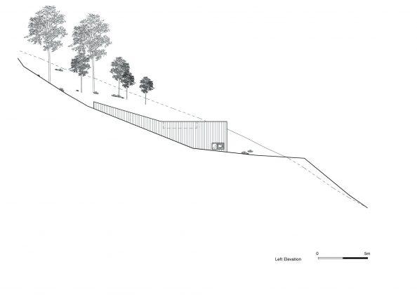 Дом на склоне горы от студии BCHO Architects 41