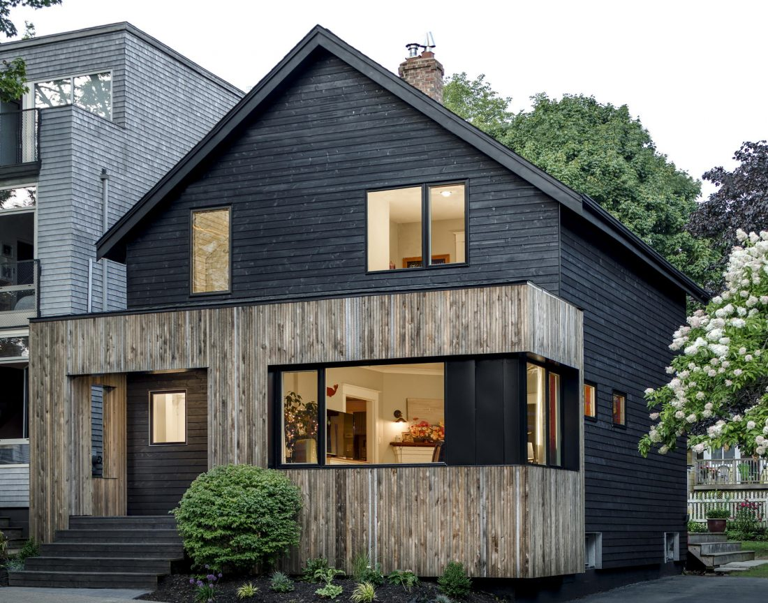 Дом с отделкой из вяза от студии Peter Braithwaite Studio 10