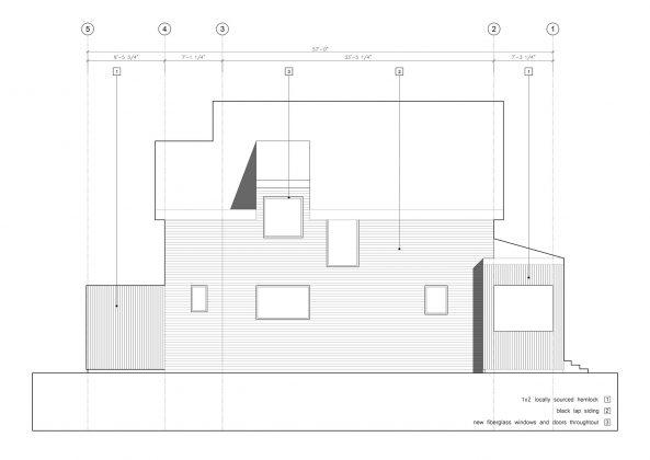 Дом с отделкой из вяза от студии Peter Braithwaite Studio 11