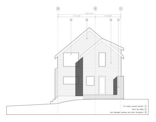 Дом с отделкой из вяза от студии Peter Braithwaite Studio 12