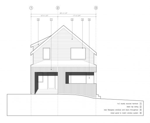 Дом с отделкой из вяза от студии Peter Braithwaite Studio 13