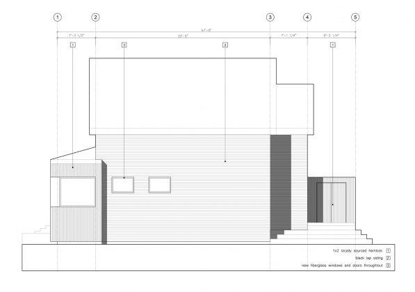 Дом с отделкой из вяза от студии Peter Braithwaite Studio 14