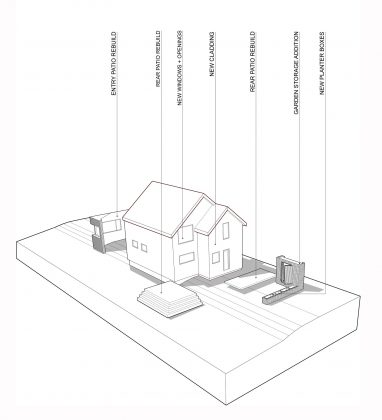 Дом с отделкой из вяза от студии Peter Braithwaite Studio 15