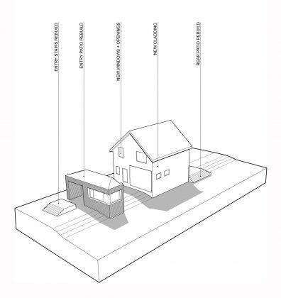 Дом с отделкой из вяза от студии Peter Braithwaite Studio 16