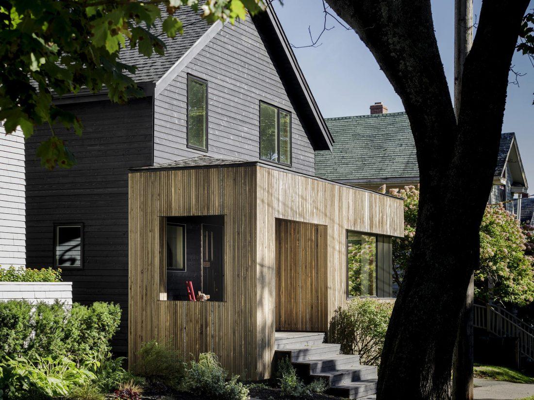 Дом с отделкой из вяза от студии Peter Braithwaite Studio 3
