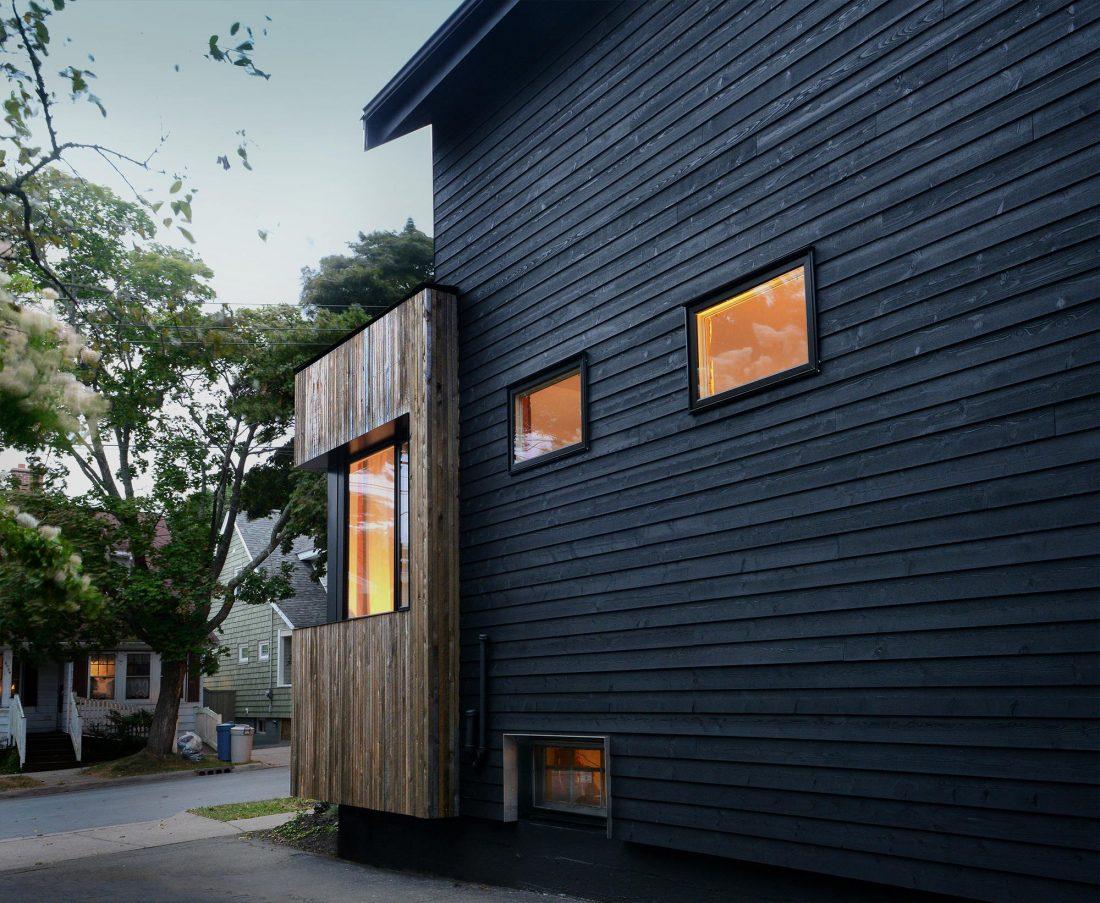 Дом с отделкой из вяза от студии Peter Braithwaite Studio 4