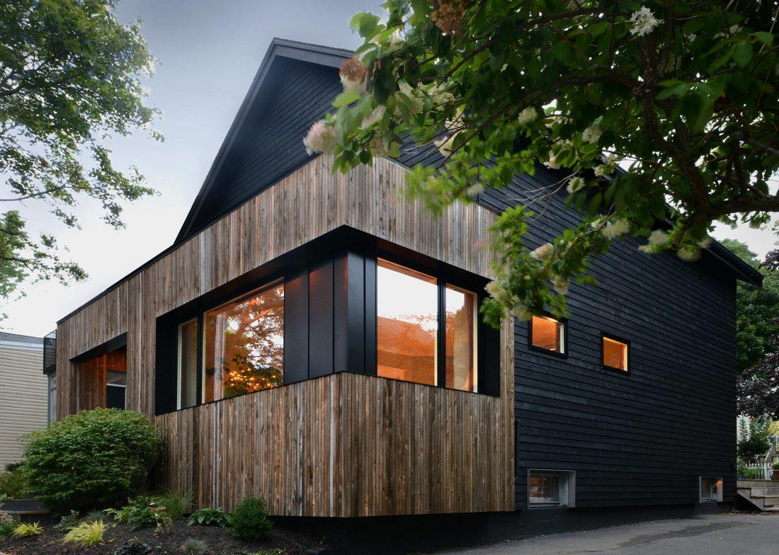 Дом с отделкой из вяза от студии Peter Braithwaite Studio 6