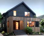 Дом с отделкой из вяза от студии Peter Braithwaite Studio 8