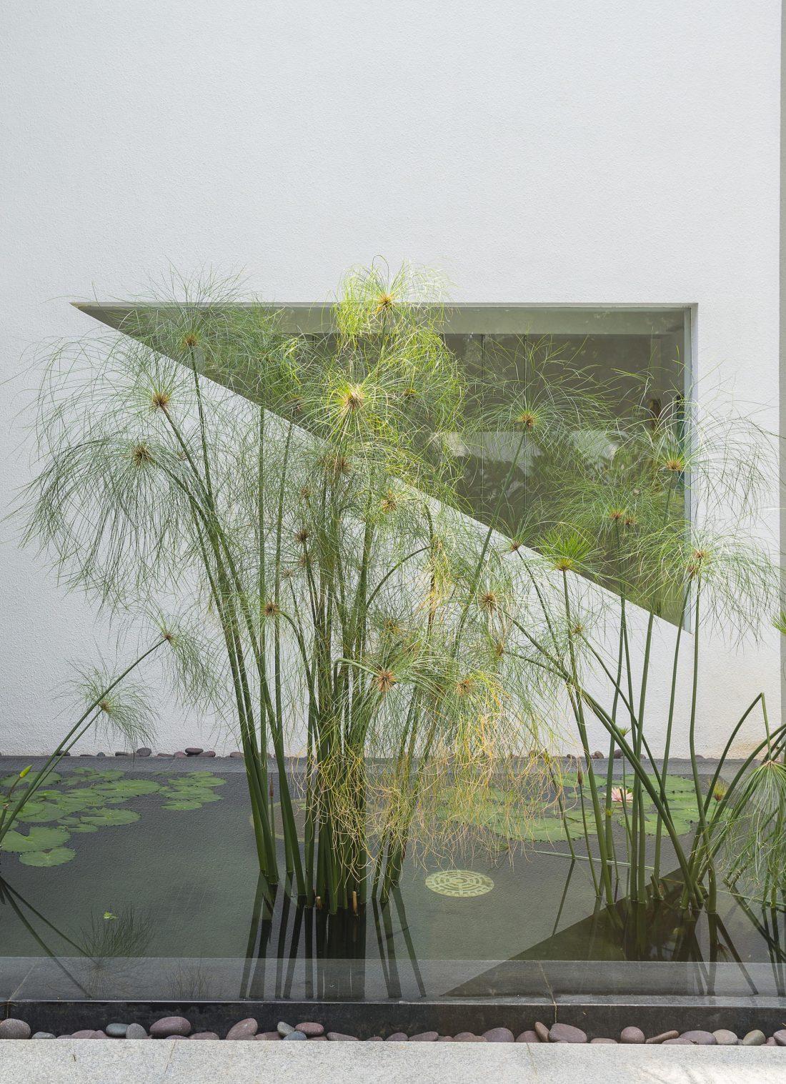 Дом с внутренним двором от Architecture Paradigm 11