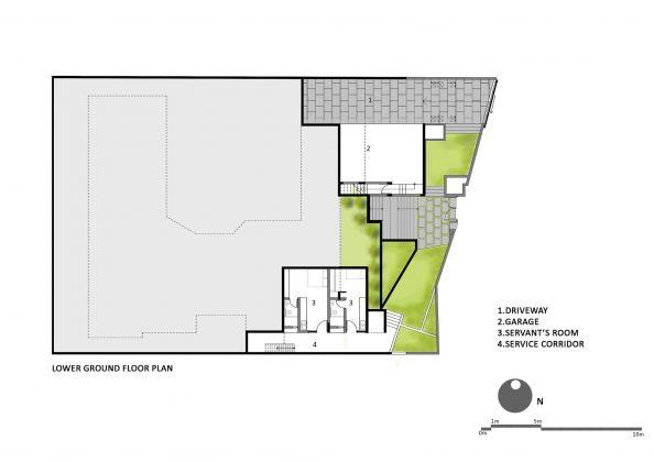 Дом с внутренним двором от Architecture Paradigm 22