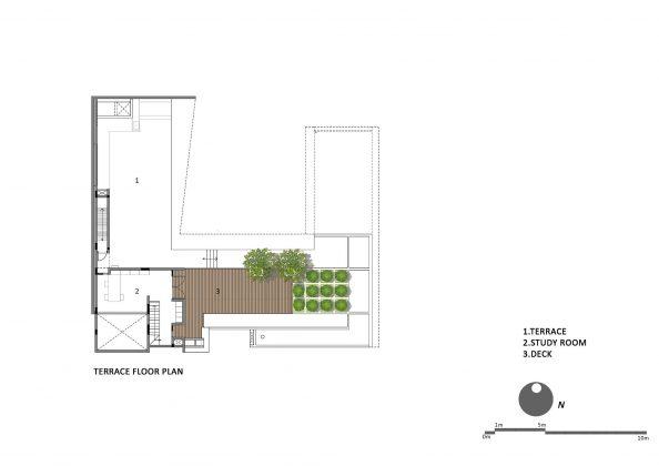 Дом с внутренним двором от Architecture Paradigm 24