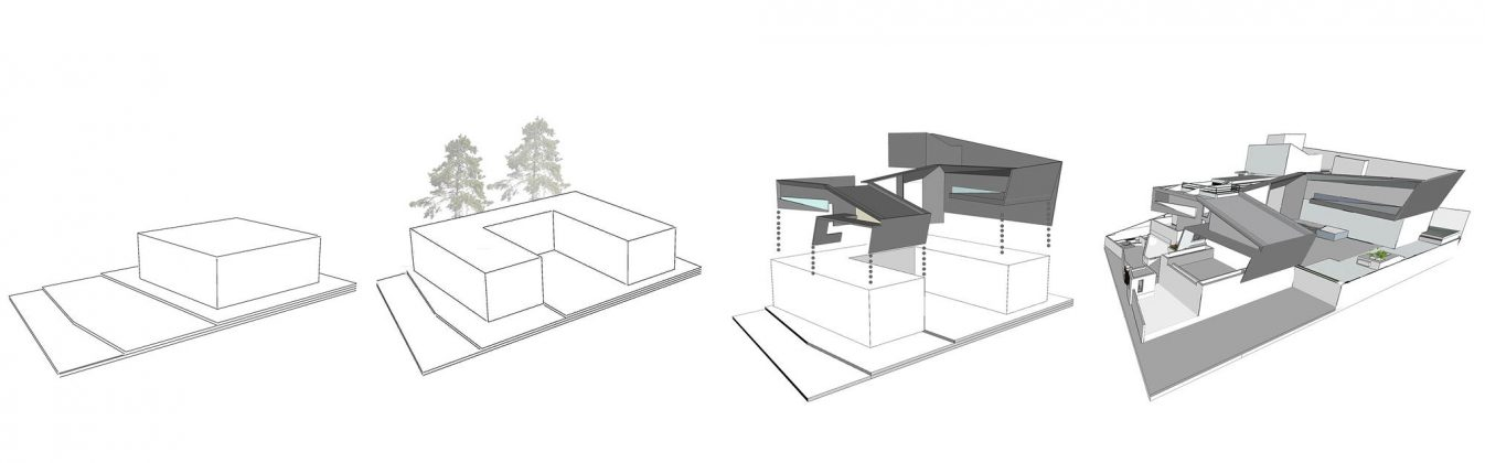 Дом с внутренним двором от Architecture Paradigm 25