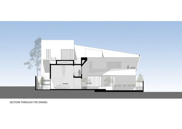 Дом с внутренним двором от Architecture Paradigm 26