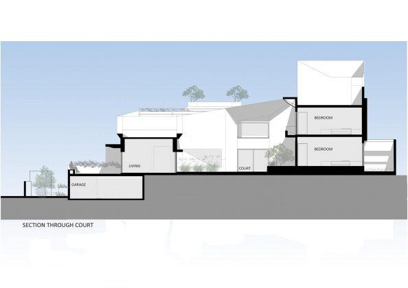 Дом с внутренним двором от Architecture Paradigm 27