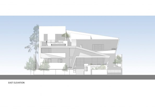 Дом с внутренним двором от Architecture Paradigm 28