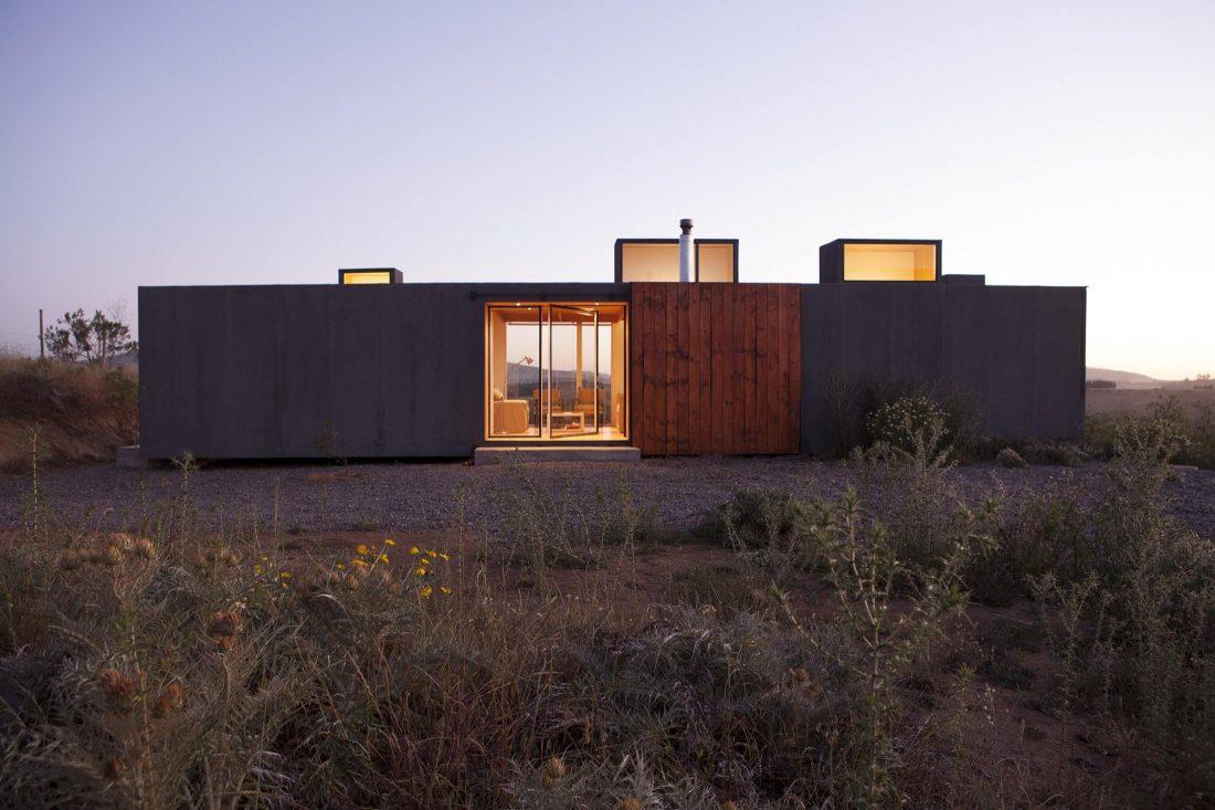 Дом в Чили от архитекторов Alfredo Gonzalez Briceno и Ignacio Rojas Hirigoyen 1