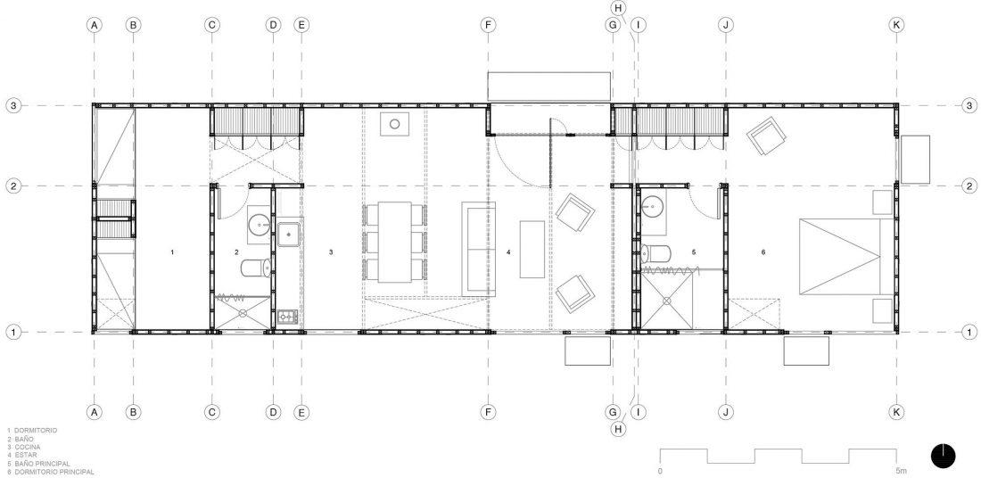 Дом в Чили от архитекторов Alfredo Gonzalez Briceno и Ignacio Rojas Hirigoyen 15