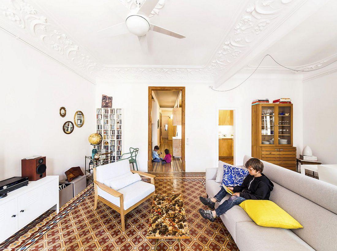 Фотографии квартиры в стиле прованс 3