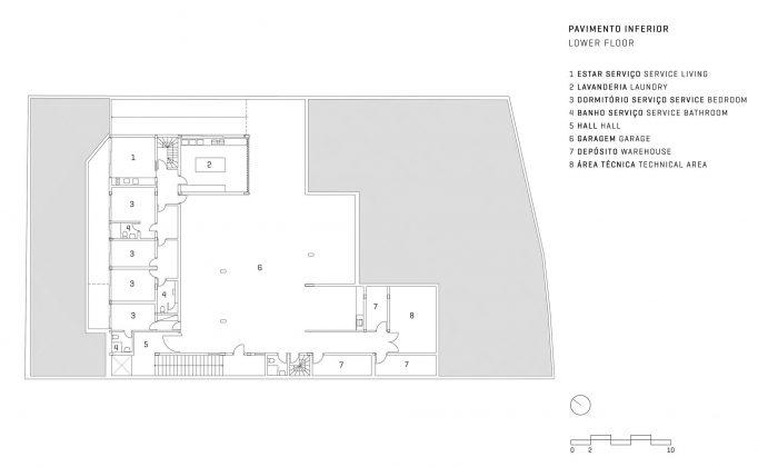 GAF House от студии Jacobsen Arquitetura 19