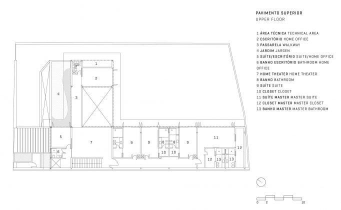 GAF House от студии Jacobsen Arquitetura 20
