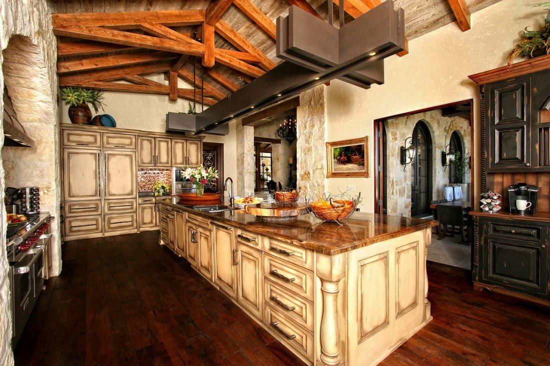Кухня в стиле прованс 13
