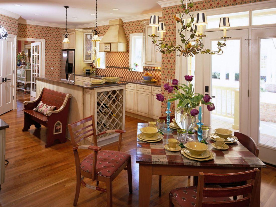 Кухня в стиле прованс 14