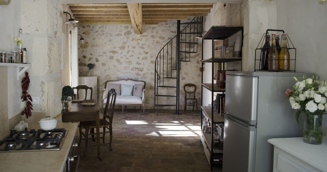 Кухня в стиле прованс 15