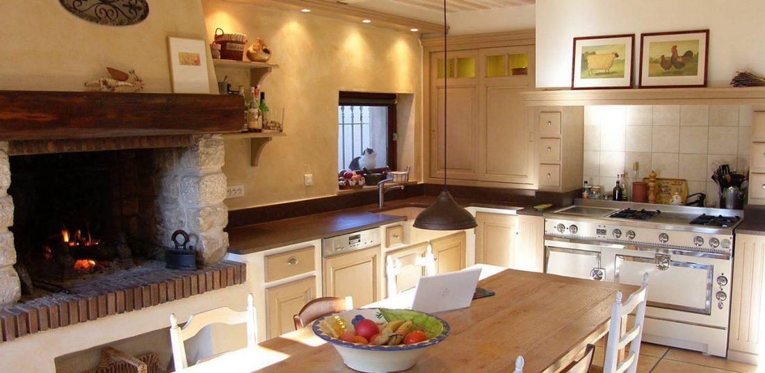 Кухня в стиле прованс 16