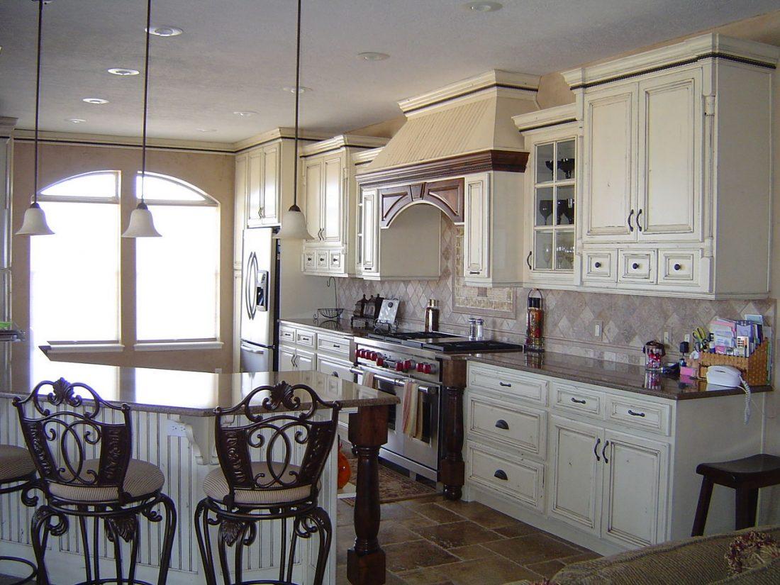 Кухня в стиле прованс 18