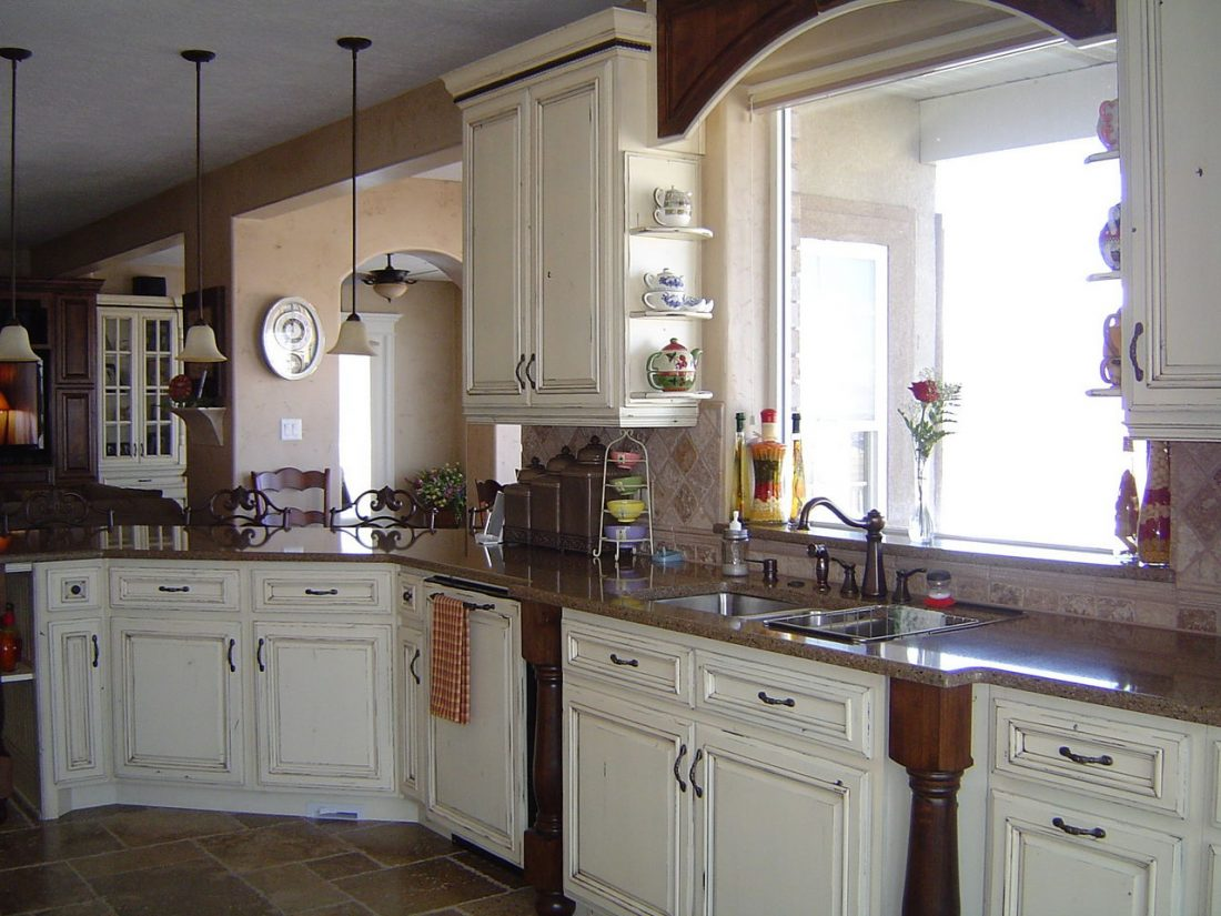 Кухня в стиле прованс 19