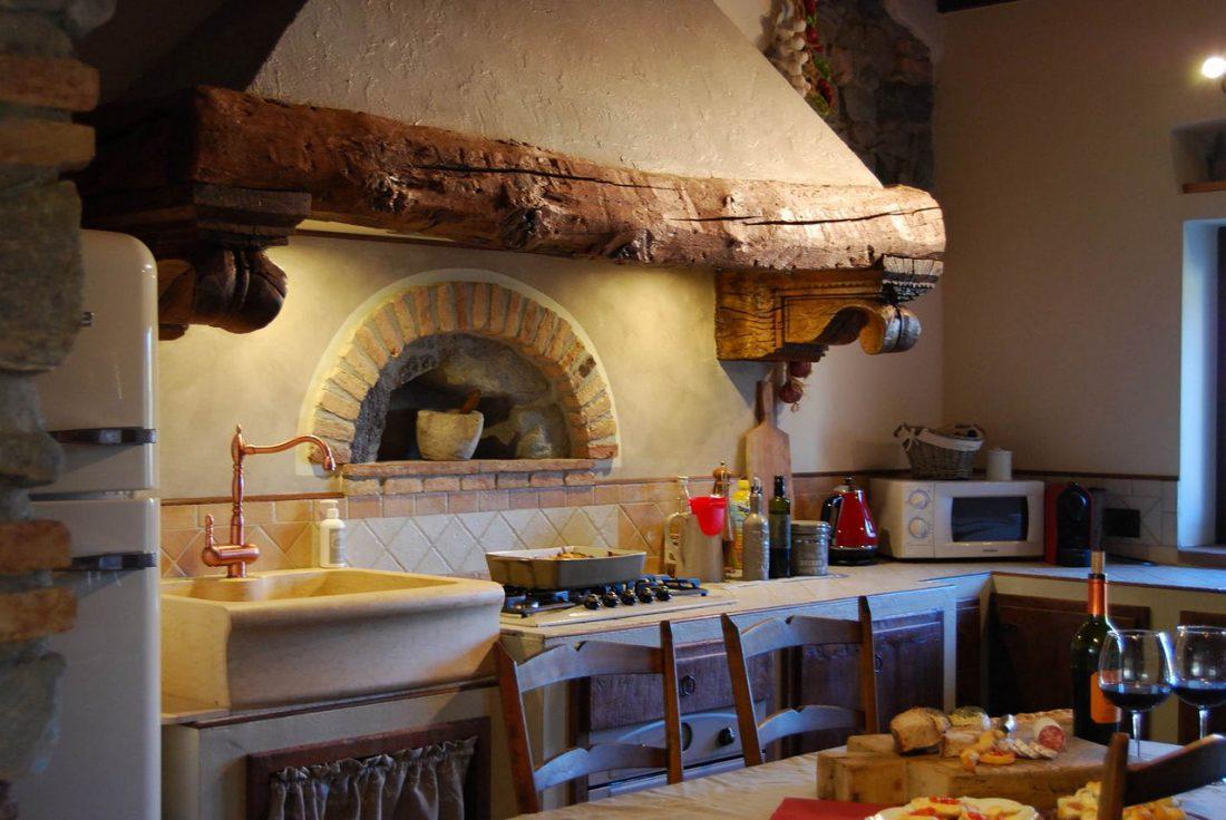 Кухня в стиле прованс 21