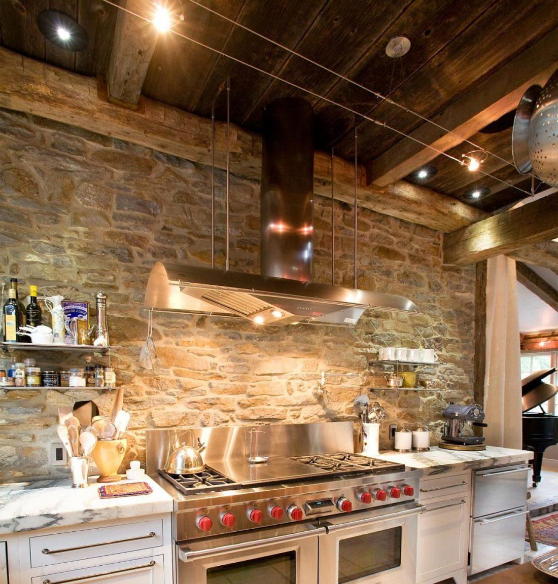 Кухня в стиле прованс 22