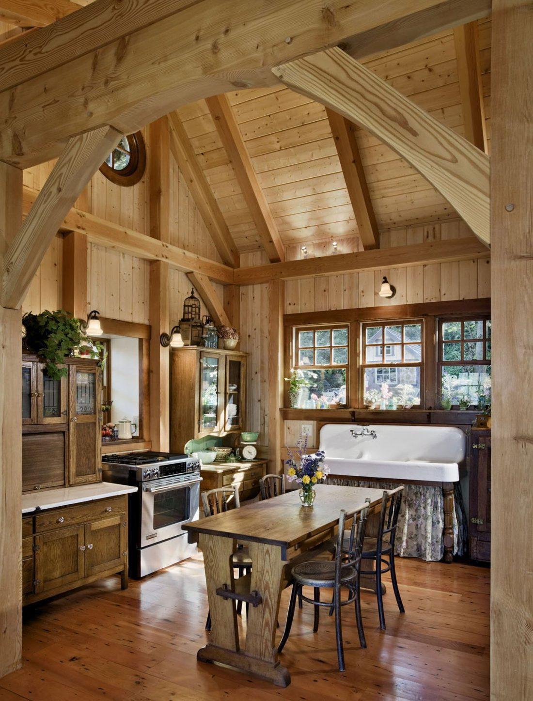 Кухня в стиле прованс 24