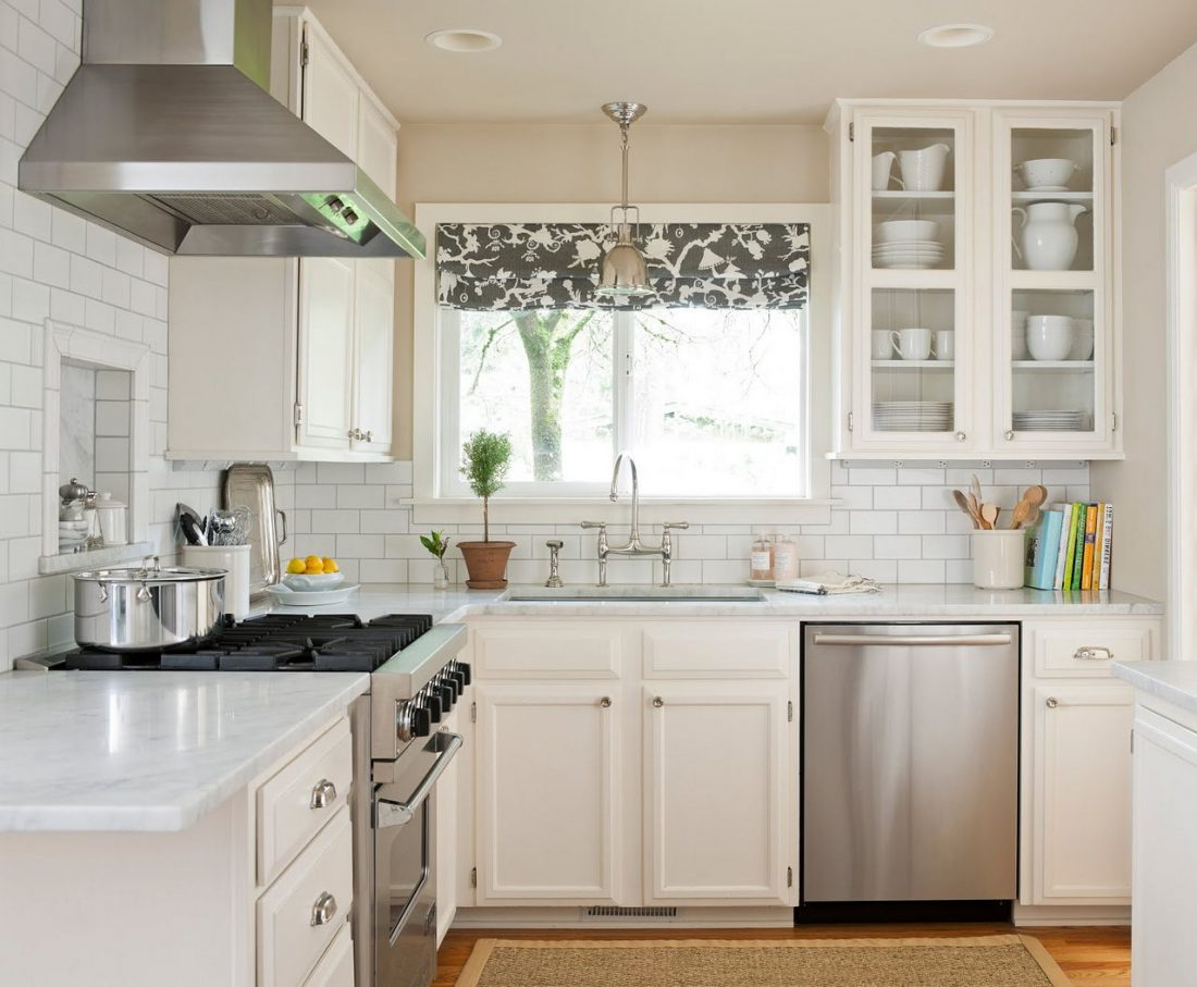 Кухня в стиле прованс 26