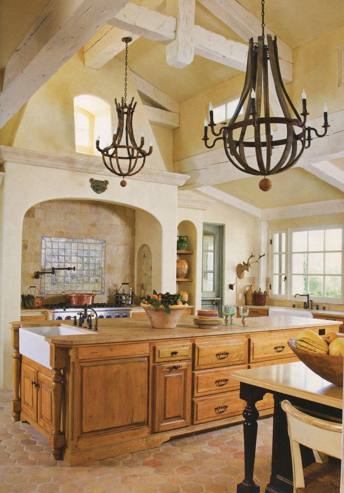 Кухня в стиле прованс 28