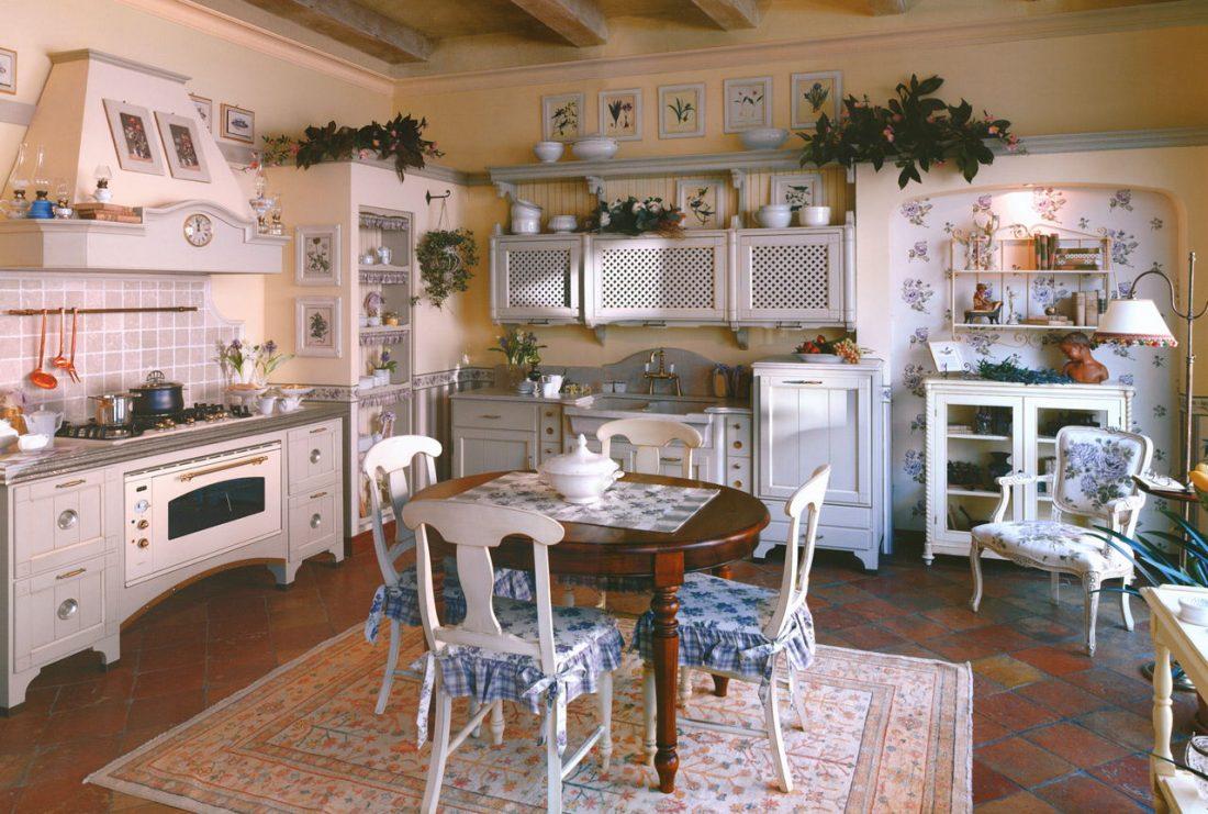Кухня в стиле прованс 3