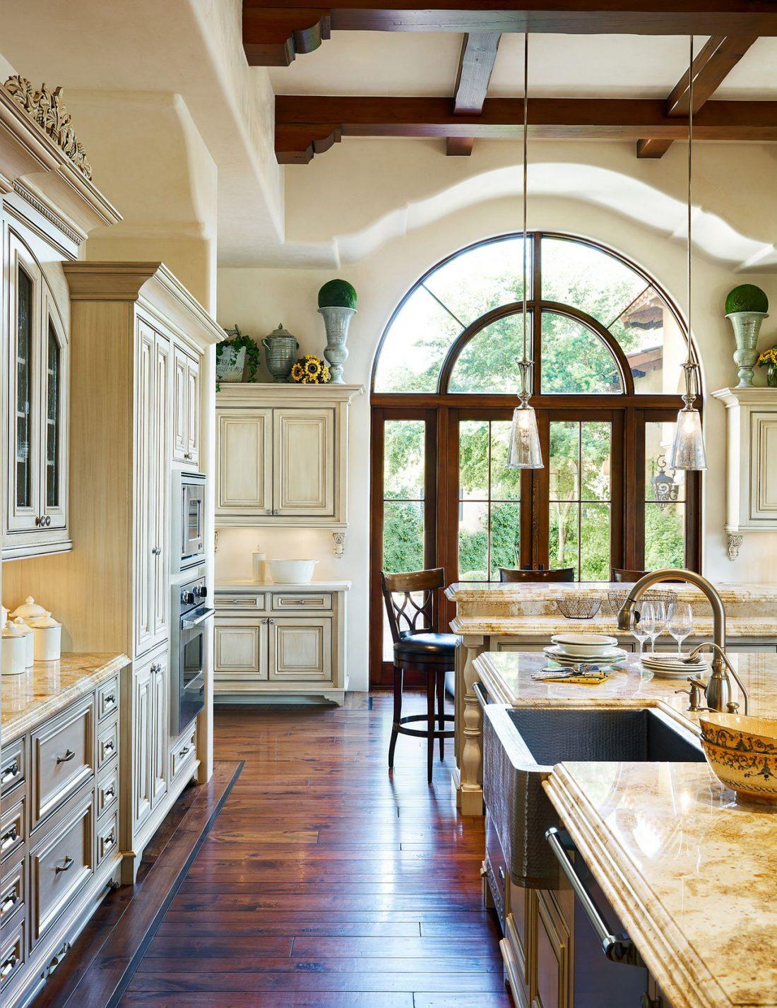 Кухня в стиле прованс 30