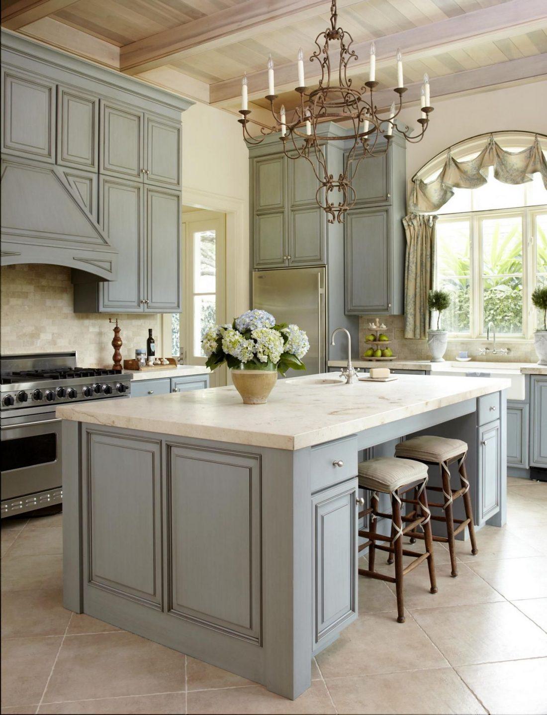 Кухня в стиле прованс 32